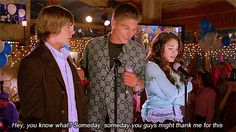 I seriously just realized I still love this movie.... That would of been cool if they thank him in their senior year.