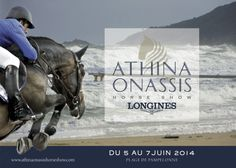 The 7th Athina Onassis Horse Show on Pampelonne Beach! From 5 to 7 June 2014, the 35 best horse riders and horses in the world will be invited to take part in the CSI 5*, the highest level competition for show jumping. A CSI 2* will also be organised for 25 amateur horse riders. This exceptional event is sponsored by Swiss watchmaker Longines. #AOHS #SaintTropez #horses