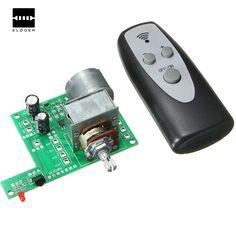 AC/DC 9V Infrared Remote Control Volume Control Board ALPS Pre Potentiometer New Integrated Circuits 80mmx 51mm Modules #Affiliate