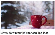 Tijdens deze koude wintermaanden kunnen we wel een immuunboost gebruiken! #theeliefhebbers #winter #thee