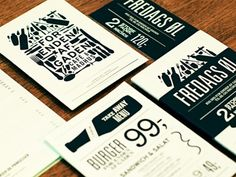 The Art of the menu: diseño de cartas para restaurantes