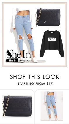 """""""#8/5 Shein"""" by ahmetovic-mirzeta ❤ liked on Polyvore featuring WithChic"""