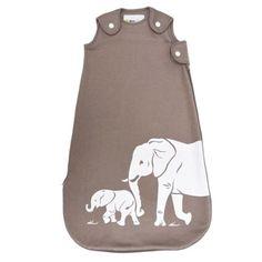 Wee Urban Dream Cotton and Bamboo Sleep Bag - Taupe Elephant Organic Modern, Organic Baby, Organic Cotton, Toddler Sleeping Bag, Taupe, Sleep Sacks, Premium Brands, Natural Baby, Baby Store