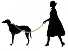 Lady and Dog Brooch £42 - Mainline 2011