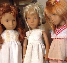 Sasha's ....Morgan, Italia and Monica in their new Petticoats. August, 2015