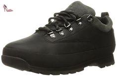 Timberland Euro Hiker Low, Chaussures Lacées Hommes, Noir (Black), 44.5 EU - Chaussures timberland (*Partner-Link)