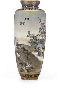 A fine Satsuma vase By Sozan for the Kinkozan studio, Meiji period (late 19th century) Bonhams September 2014 $ 15,000