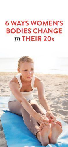 6 Ways Women's Bodies Change In Their 20s