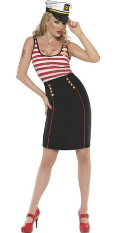 Sailor Dress Women's Sexy Navy Costume