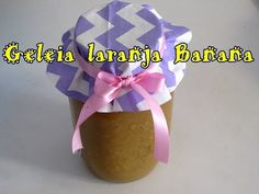 receita de geleia laranja e banana - YouTube