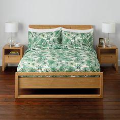 Buy John Lewis Amazon Print Duvet Cover and Pillowcase Set Online at johnlewis.com