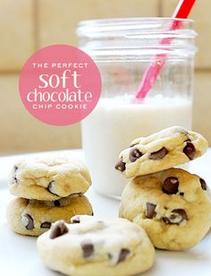 The ultimate SOFT chocolate chip cookie! Seriously, no one can screw this recipe up! :)