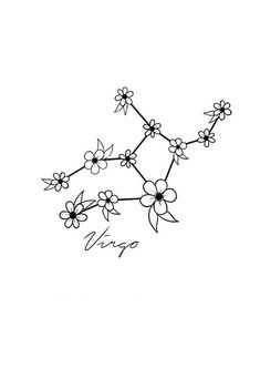 Virgo Star Sign Constellation by toptiermerch | Redbubble