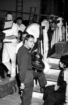 "goldenageestate: "" Marlon Brando & Anna Magnani ~ The Fugitive Kind, 1959 """
