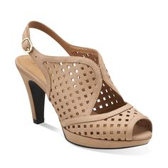 7e6497f0f4b5 Wessex Shay in Beige Nubuck - Womens Shoes from Clarks