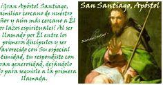 SANTIAGO EL MAYOR Betsaida, Israel - Jerusalén, Israel  (5 a.C. †44) http://santoralmariareina.blogspot.com/2012/07/santo-de-hoy-25-de-julio.html