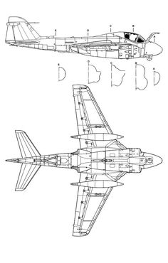3 views of alot of planes. Us Navy Aircraft, Military Aircraft, Blackburn Buccaneer, Uss Yorktown, Parking Design, Jet Plane, Fighter Aircraft, Aviation Art, Technical Drawing