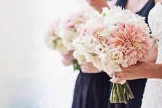 bridesmaid blush bouquet