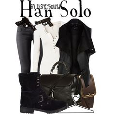 """Han Solo"" by lalakay on Polyvore"