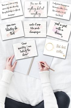 Mini Flatlay FlatLay Cards Flatlay Cards Set Flat Lay Card