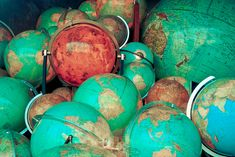 vintage globes | Flickr - Photo Sharing!