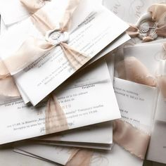 Ready to be packed . Simple Wedding Invitations, Elegant Invitations, Wedding Stationary, Custom Invitations, Pocket Invitation, Invitation Envelopes, Floral Invitation, Black Envelopes, Wax Seals