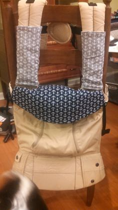 Free DIY Tutorial Bib and Strap Cover/ Drool Pads for LilleBaby All Seasons Baby Carrier