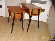 2 x stolik rtv kawowy PRL loft vintage etykiety 39cm Warszawa Table, Furniture, Vintage, Design, Home Decor, Decoration Home, Room Decor, Tables