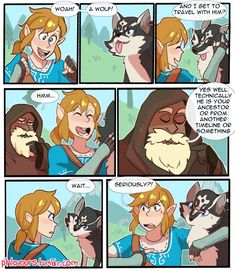 """Link finds out he's related to furries. anyway 2017 is nearly upon us and I can't wait to play!"" (Part 1)"