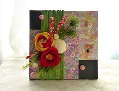 【和風】 壁飾り・お正月アレンジ |フラワー・リース|花ごよみ|ハンドメイド通販・販売のCreema