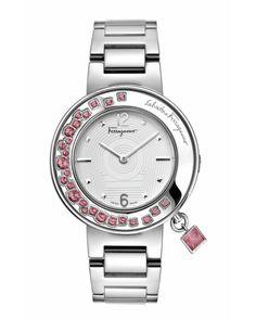 salvatore ferragamo 2015 women watch collection | Salvatore Ferragamo Women's Gancino Sparkling Watch