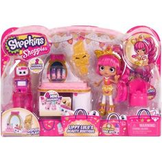 Shopkins Shoppies Playset Plus Doll, Assorted