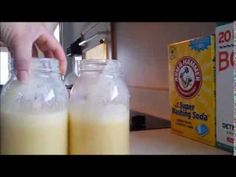 Super Laundry Sauce concentrate recipe and instructions. Sorry if the video is a bit shaky. This homemade detergent is supposed to get out just about every s. Laundry Detergent Recipe, Homemade Laundry Detergent, Homemade Cleaning Products, Natural Cleaning Products, Diy Cleaners, Cleaners Homemade, Laundry Sauce, Soap Tutorial, Cleaning Hacks