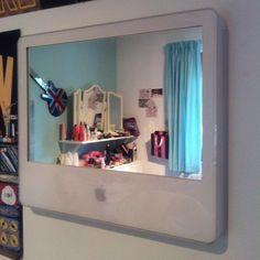repurposed imac screen-->mirror