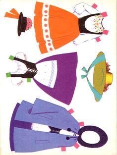 Heidi - A Wonder Cut and Color Book - DollsDoOldDays - Picasa Web Albums