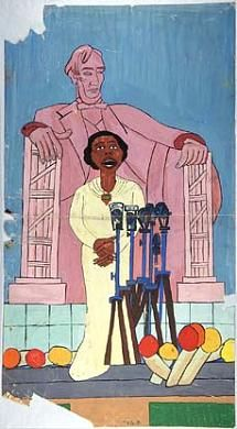 Marian Anderson #1 by William H. Johnson / American Art