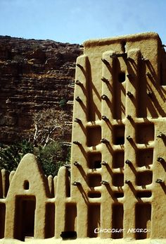 African Adobe Architecture   influence of Islamic architecture on ancient West African architecture ...