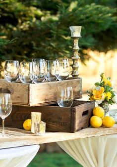 For Beer Glasses? Photo via Project Wedding