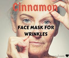 DIY Mask : Natural & DIY Skin Care : cinnamon face mask check out how cinnamon combine