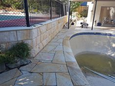 Aussietecture provides the best stones for walling, flooring & landscaping. Contact us Outdoor Tiles, Outdoor Flooring, Outdoor Decor, Crazy Paving, Sandstone Paving, Stone Supplier, Paving Stones, Wall Cladding, Stone Tiles