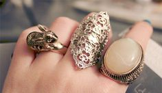 Love these rings.