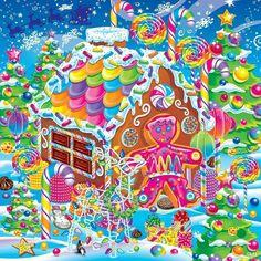 Lisa Frank Happy Holidays