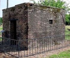 The jail where Bonnie Parker was kept. just read about her & Clyde. Said nothing about her being jailed