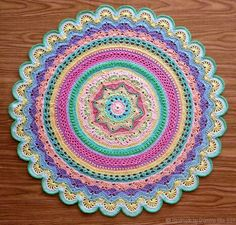 Mini Rings of Change by Frank O'Randle - really love his work, and this pastel version is just beautiful!!