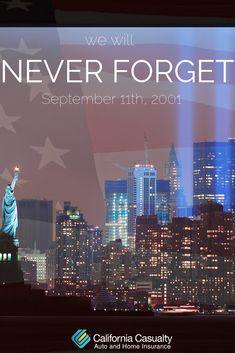 """""""We will remember every rescuer who died in honor. We will remember every family that lives in grief. We will remember."""" -George W. Bush We will never forget September"""