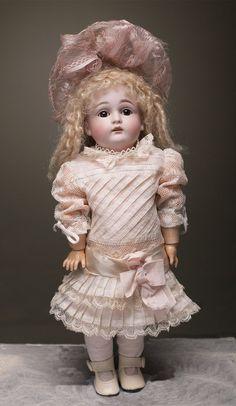 12 1/2 (32 cm.) Wonderful cabinet size Kestner child german doll from respectfulbear on Ruby Lane