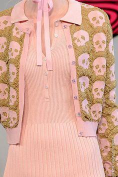 Skulls in Powder Pink & Gold