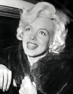 Marilyn Monroe photographed in 1954.