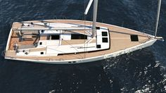 Hanse The Fast And Elegant Sailing Yacht - OceanShaker Hanse Yachts, Building Companies, Motor Yacht, Sailing, Germany, Boat, Life, Candle, Dinghy