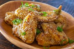 How To Make Sticky Asian Chicken Wings Recipe